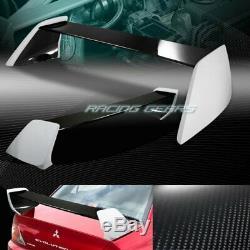 Mitsubishi Lancer Evolution 8/9 En Fibre De Carbone Réel Arrière Du Coffre Aileron Wing