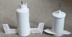 New 5kfpm Véritable Artisan De Kitchenaid Complète Processeur Alimentaire Kit D'accessoires