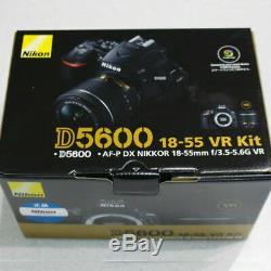 Nikon D5600 Kit Avec Af-p De F3.5-5.6g Vr Optique Véritable