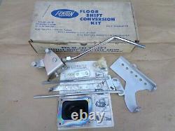 Nos Fenton Floor Shift Conversion Kit Original Vintage Accessoire 56-62 Ford Merc