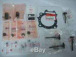 Nouveau 2004 Honda Crf250r Complete Véritable Oem Valve Kit Withgasket