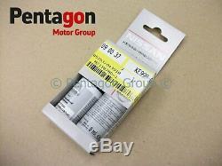 Nouveau Nissan D'origine Officielle Peinture De Retouche Crayon Bâton Kit Blanc Perle Qab