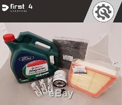 Nouveau Véritable Ford Fiesta 1.0l Ecoboost 2012-17 Service Kit Oil & Tous Les Filtres Sv20