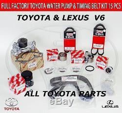 Nouvelle Lexus Toyota Timing Véritable Ceinture Kit 1mzfe Eng Avalon Camry Es300 Rx300