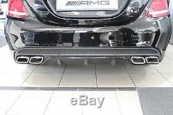 Originale C63 Amg Diffuseur Arrière Sport Edition Mercedes-benz W205 S205 Classe C Nouveau
