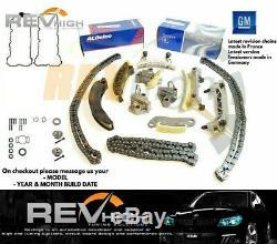 Originale Gm Gears V6 Kit De Chaîne De Distribution Holden Vz Ve 3.6l Joints Alloytec Ly7