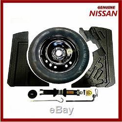 Pneu Pour Roue De Secours D'origine Nissan Qashqai J11 & J11b Space Saver. Nouveau