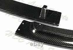 Pour 11-13 Bmw Série 3 Coupe E92 E93 Gt-style Real Carbon Fiber Front Bumper Lip