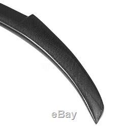 Pour 11-17 Bmw F10 F18 528i 535i 550i M5 Real Fibre De Carbone Coffre Spoiler M4 Style