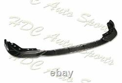 Pour 2019-2020 Bmw G20 M-sport M340i Real Carbon Fiber Front Bumper Body Lip 3pc