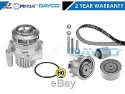 Pour Audi A4 A6 2.0 Tdi Bre Dayco Courroie De Distribution Kit Meyle Allemagne Pompe À Eau 140bhp