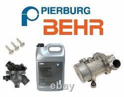Pour Bmw Pompe À Eau De Moteur Électrique Thermostat Oem 3-bolt Kit Antigel Véritable