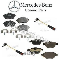 Pour Mercedes W204 C204 C300 Avant Et Arrière Plaquettes De Frein Ensembles Et Capteurs Kit D'origine