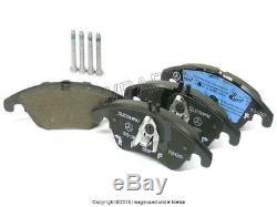 Pour Mercedes W204 W212 C350 E350 Complete Plaquettes De Frein Kit Véritable Ventilé Rotors
