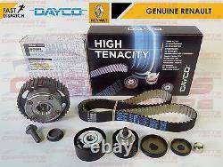 Pour Renault Clio 197 200 Genuine Camshaft Dephaser Pulley Kit Ceinture Cam Timing