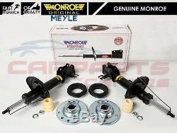 Pour Saab 93 9-3 9.3 2 Avant Amortisseurs Monroe Top Mounts Roulements Kit 02-11