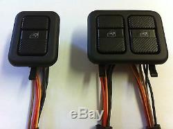 Pour Vw T4 Transporter Kit De Fenêtre Électrique Commutateurs Oem D'origine Tout Neuf