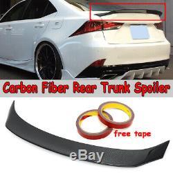 Real Fibre De Carbone Ar Style De Coffre Spoiler 2014-2019 Lexus Is200t Is250 Is350