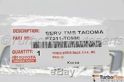 Toyota Tacoma 1998-2004 Tailgate 3 Emblem Kit Oem Véritable