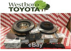 Toyota Tacoma 4rm 2005-2015 Véritable Frein Avant Oem Rotors Pad Kit Cales & Pins
