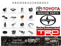 Toyota Tacoma Complete 4x4 Mud Guard Flap Kit Véritable Oem 2005-2015