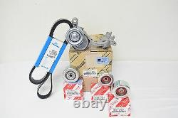 Toyota Tacoma V6 05-14 Drive Belt Tensioner & Idler Pulley Kit Véritable Oem