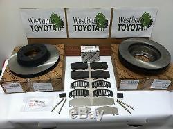 Toyota Tundra 2004-2006 Véritable Frein Avant Rotors Oem, Pad Kit, Cales Et Pins