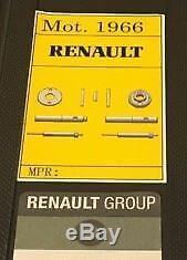 Trousse À Outils D'extraction Pour Enlèvement D'injecteurs Renault Trafic Vivaro 2.0 M9r DCI