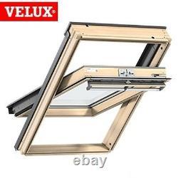 Velux Mk04 Pine Centre Pivot Fenêtre De Toit Loft Skylight 78cm X 98cm Genuine Velux
