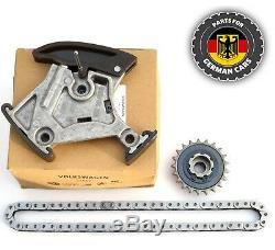 Véritable Audi 2.0 Tfsi Huile Balance Pompe Sprocket Arbre Chaîne Kit 06f105243c