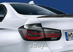Véritable Bmw F31 Touring M Performance Domaine Dark Shadow Feu Arrière Kit 2450110