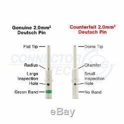 Véritable Deutsch Dt Plug-kit Connecteur 268pc Avec Crimp Tool Automotive # Dt-kit10