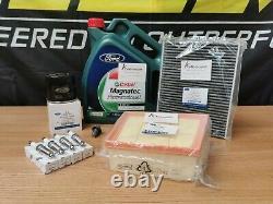 Véritable Ford Fiesta Mk7 St180 Full Service Kit Oil Air Pollen Cabin Filter