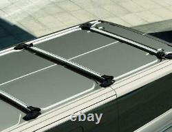 Véritable Ford Transit Custom Pliable Roof Base Carrier Kit X3 2012- 2394045