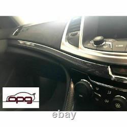 Véritable Holden Hsv 3 Pce Dash Trim Kit Fine Carbon Pour Vf Vf2 Ss Ssv Sv6 Wn Stat