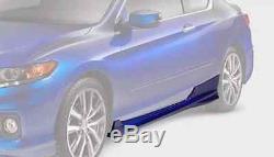 Véritable Honda Oem 2 Accord Coupé Porte Latérale Sous Spoiler Corps 2013- 2017