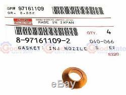 Véritable Isuzu Holden Jackaroo 3.0ltd 4jx1 Joint Torique Joint Rondelle Injecteur Kit