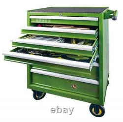 Véritable John Deere 212 Pièce 6 Draw Tool Kit And Box Workshop Mechanic Garage