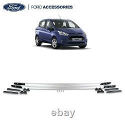 Véritable Kit De Rails De Toit Ford B-max O/s & N/s En Argent De Gauche Et De Droite 2015- 2002327