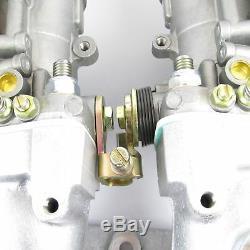 Véritable Kit Double Carburateur Weber 44idf Pour Ford Escort Rs2000 Pinto Gp1 Pfo204