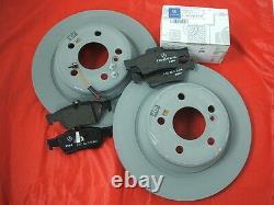 Véritable Mercedes-benz C218 Cls Coupe Shooting Brake Rear Discs & Pads Kit Nouveau