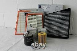 Véritable Mercedes-benz C219 Cls Diesel Service Kit Oil Air Pollen Fuel Filter