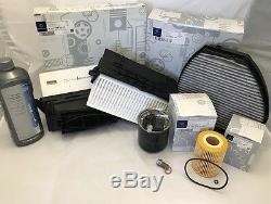 Véritable Mercedes-benz Classe E W212 Diesel E300 Et E350 Service Kit Inc Screenwash
