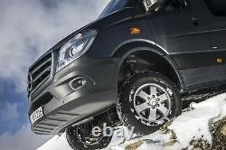 Véritable Mercedes-benz Sprinter Set De 16 Roues En Alliage Et Kit De Montage Complet