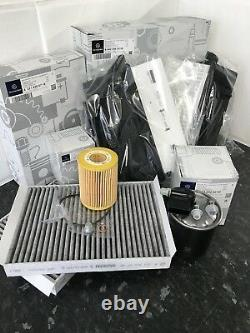 Véritable Mercedes-benz W164 ML 320/350 Diesel CDI Om642 Filtre Kit De Service