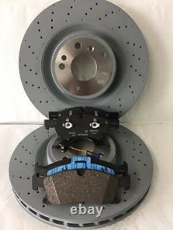 Véritable Mercedes-benz W166 ML Gle Amg Sport Front Discs & Pads Kit Nouveau