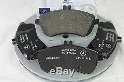 Véritable Mercedes-benz W204 Classe C Berline / Est Avant Disques Et Tampons Kit Nouveau