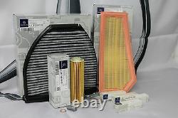 Véritable Mercedes-benz W204 Classe C C180 C200 C250 Cgi Filter Service Kit Nouveau