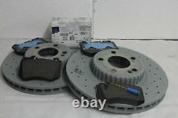 Véritable Mercedes-benz W205 Classe C Amg Front & Rear Discs & Pads Kit Nouveau