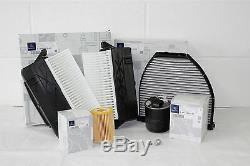 Véritable Mercedes-benz W212 Classe E 300 CDI 350 Diesel Om642 Filtre Service Kit